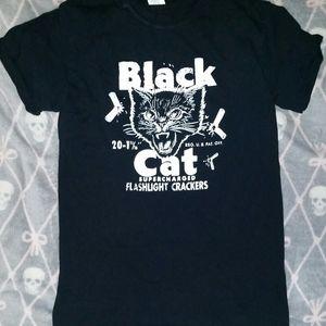 Black Cat Tee